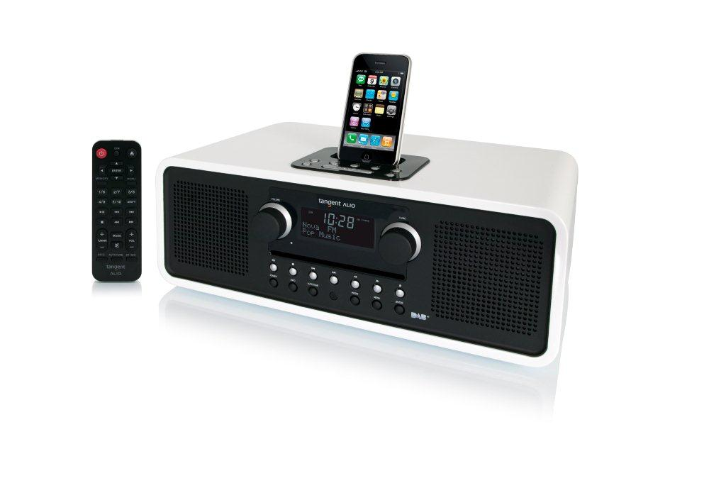 Tangent ALIO stereo DAB+/CD with dock