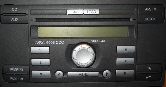 Ford Focus 6CD 6006 Stereo