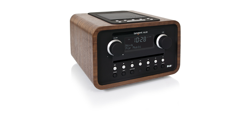 Tangent ALIO FM/CD radio with dock