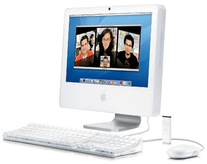 """iMac Intel White 20"""""""